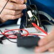 Stock Photo: Testing Voltage