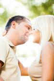Światło słoneczne kiss — Zdjęcie stockowe