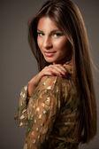 Mooie vrouw — Stockfoto