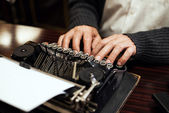 Máquina de escrever — Fotografia Stock