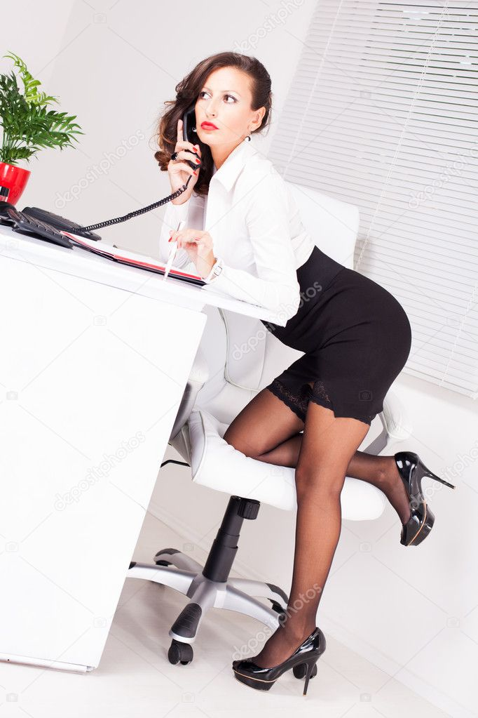 sexy business lady is getting banged in the office  272572