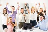 Başarılı bir iş takım — Stok fotoğraf