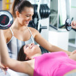 Personal trainer — Stock Photo #42995357