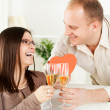 The valentine's day — Stock Photo