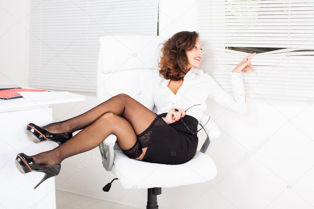 sexy business lady is getting banged in the office  272674