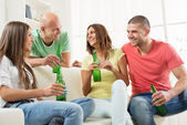 Friends hanging out — Stock Photo