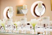 Decoración de la mesa de boda — Foto de Stock