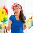 Cleaning home — Stock Photo #49421133