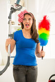 Cleaning home — Stock Photo