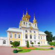 East Chapel of Petergof Palace in St. Petersburg — Stock Photo #11975143