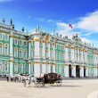 View Winter Palace in Saint Petersburg from Nevriver. — Stock Photo #12031532