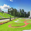 Stock Photo: Lower Park in Pertergof, Saint-Petersburg, panorama