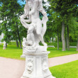 Tsarskoe Selo (Pushkin).Statue of Galatea. - Photo