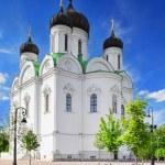 Russian Church in Pishkin, St. Petersburg. — Stock Photo