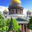 Saint Isaac's Cathedral in St Petersburg — Stock Photo #12031649
