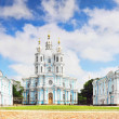 Stock Photo: St. Petersburg. Smolny Cathedral (Church of Resurrection)