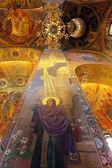 St. petersbur dökülen kan üzerinde Kilise İsa iç — Stok fotoğraf