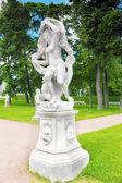 Tsarskoe Selo (Pushkin).Statue of Galatea. — Stock Photo