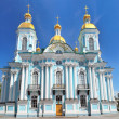 St. Nicholas Naval Cathedral . St. Petersburg — Stock Photo #12142071