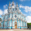 St. Petersburg. Smolny Cathedral (Church of Resurrection) — Stock Photo #12142078