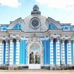 The Grotto pavilion in Katherine's Park,Tsarskoe Selo (Pushkin) — Foto Stock
