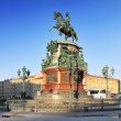 Monument to Nicholas I (1859) in St. Petersburg, Russia — Stock Photo #12142145