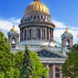 Saint Isaac's Cathedral in St Petersburg — Stock Photo #12142161