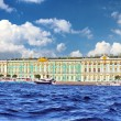 View Winter Palace in Saint Petersburg from Neva river. — Stock Photo #12248777