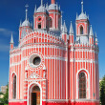 ������, ������: John the Baptist birth Chesmen church Saint Petersburg Russi