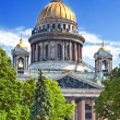 Saint Isaac's Cathedral in St Petersburg — Stock Photo #12248904