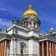 Saint Isaac's Cathedral in St Petersburg, Russia — Stock Photo #12260363