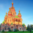 Church of St. Peter and Paul Church, Peterhof — Stock Photo #12260533
