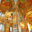 Stock Photo: Interior of Church Savior on Spilled Blood in St. Petersbur