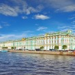View of Saint Petersburg from Neva river. Russia — Stockfoto