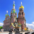 Church of Saviour on Spilled Blood, St. Petersburg, Russia — Stock Photo #12390579
