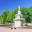 Fountain Roman  in Pertergof, Saint-Petersburg, Russia — Stock Photo