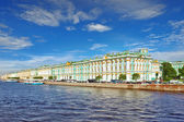 View of Saint Petersburg from Neva river. Russia — Stock Photo