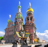 Church of the Saviour on Spilled Blood, St. Petersburg, Russia — Foto Stock