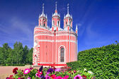 John the Baptist birth (Chesmen) church. Saint-Petersburg.Russi — Stock Photo