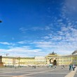 View Winter Palace in Saint Petersburg from Neva river. — Stock Photo #12426972