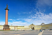 View Winter Palace in Saint Petersburg from Neva river. — Stock Photo