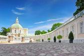 Mensjikov paleis in sint-petersburg, rusland — Stockfoto