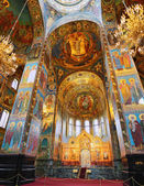 ST. PETERSBURG, RUSSIA FEDERATION - JUNE 29:Interior of Church S — Stock Photo