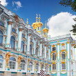 Katherine's Palace hall in Tsarskoe Selo (Pushkin). — Stock Photo #12822229