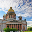 Saint Isaac's Cathedral in St Petersburg, Russia - Stock Photo