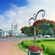St. Petersburg. Smolny Cathedral (Church of the Resurrection) - Stock Photo