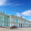View Winter Palace in Saint Petersburg. — Stock Photo #12883067