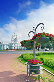 St. Petersburg. Smolny Cathedral (Church of the Resurrection) — Stock Photo