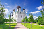 Russian Church in Pishkin, St. Petersburg. — Stock Photo