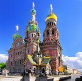 Kirche des retters verschüttetes blut, st. petersburg, russland — Stockfoto